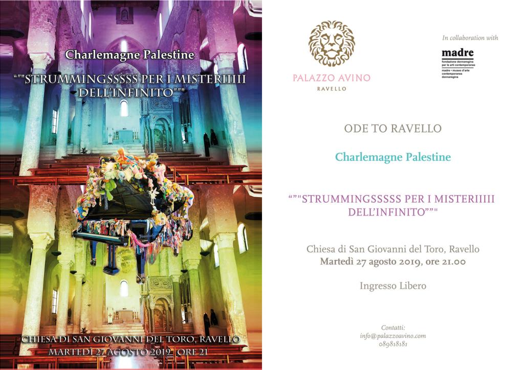 Ode-to-Ravello_evite performance Charlemagne Palestine